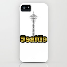 Seattle - Space Needle iPhone Case