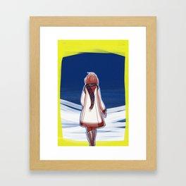 I turn my back to Winter Framed Art Print