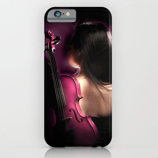 VIOLIN WOMAN iPhone & iPod Case