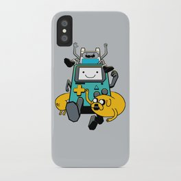 Portable Time! iPhone Case