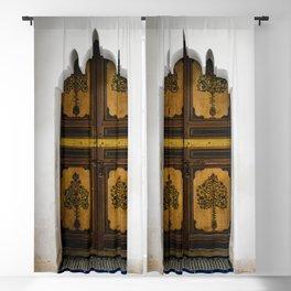 Door at La Bahia (Marrakech) Blackout Curtain