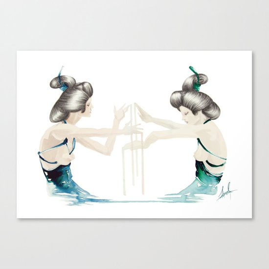 Accomplice Canvas Print