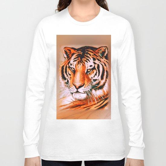 Tiger at rest Long Sleeve T-shirt