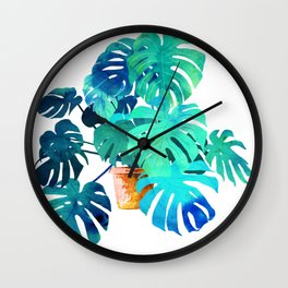 Monstera || Wall Clock
