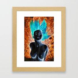 Turn your colors  Framed Art Print