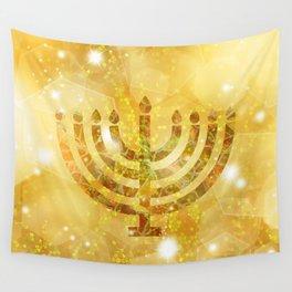 Hanukkah, the Festival of Lights Wall Tapestry