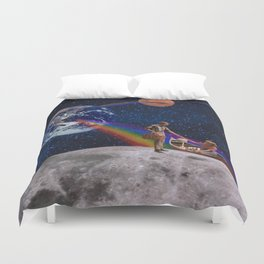 Oh What a Gorgeous Adventure Duvet Cover