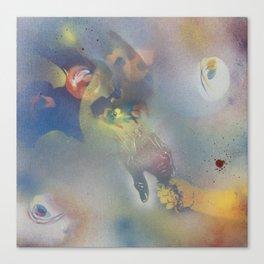 Blue Cliff record Case #8 Canvas Print