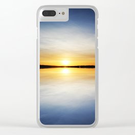 Reflecting Sunset - 6 Clear iPhone Case