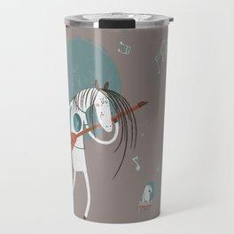 ANALOG ZINE-ROCK N ROLL Travel Mug