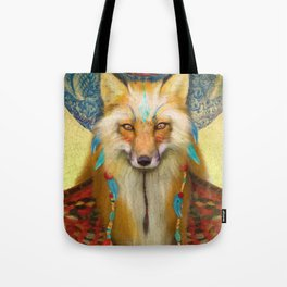Wise Fox Tote Bag