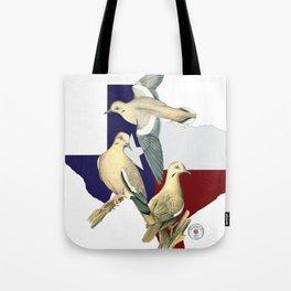 Shootat- Texas Doves Tote Bag