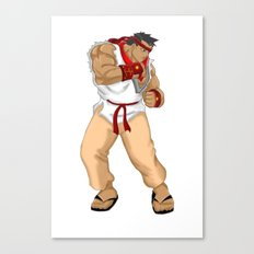 Street Fighter Andres Bonifacio Canvas Print