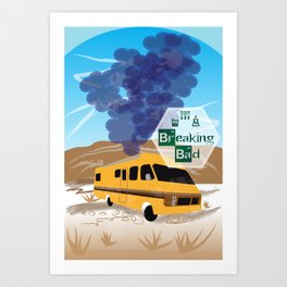 Breaking Bad Lab Art Print