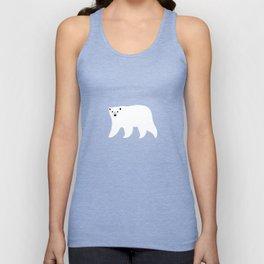 Polar Bears Pattern Unisex Tank Top