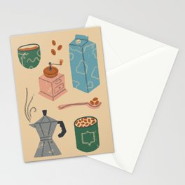 Coffee Essentials Stationery Cards