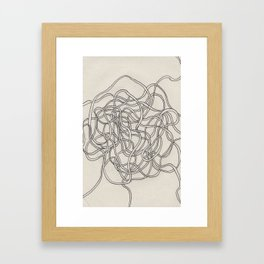 beautiful mess Framed Art Print