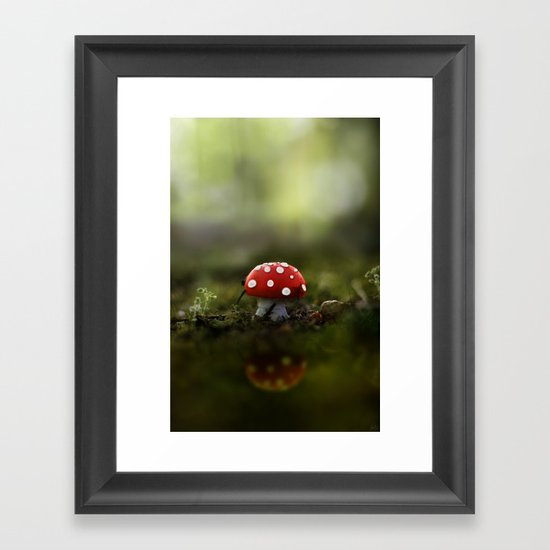 the real world Framed Art Print