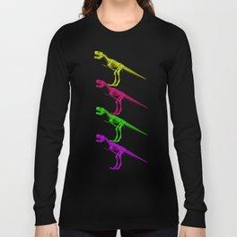 T-Rex Bones Long Sleeve T-shirt