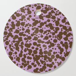 Bubbles in the Batter - Lavender-Chocolate Cutting Board