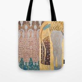 Gustav Klimt - Beethovenfries Tote Bag