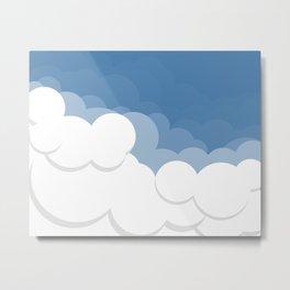 Cloud Ten Metal Print