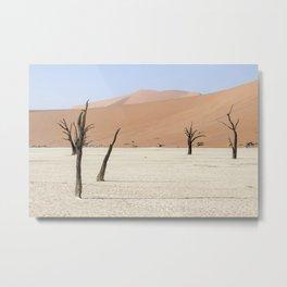 Trees In Nevada Metal Print
