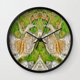 Ocean Grass Wall Clock