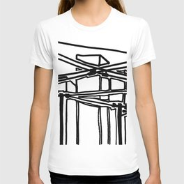 electric cords- urban view T-shirt