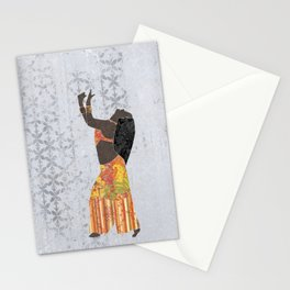 Belly dancer 11 Stationery Cards