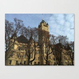 A Visionaries Castle Canvas Print