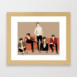 """Indie band much?"" Framed Art Print"