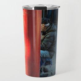 Milano Street musician Travel Mug