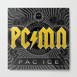 Pac Ice Metal Print