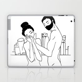 She knew that home is where He is Laptop & iPad Skin