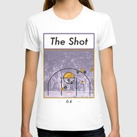 lakers T-shirts featuring The Shot Series, Derek Fisher by Dyllin Shane