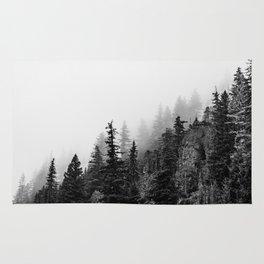 Foggy Trees Rug