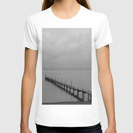 Misty Morning At The Lake T-shirt