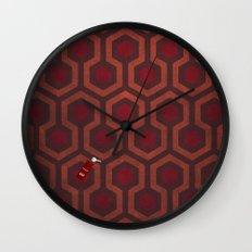 the Shining Rug & Room 237 Wall Clock