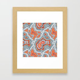 Crazy Lace Agate Framed Art Print