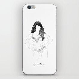 Candice Swanepoel iPhone Skin