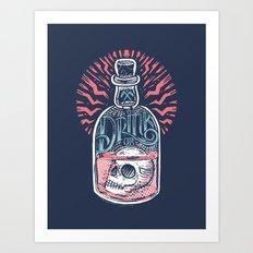 Drink or Die Art Print
