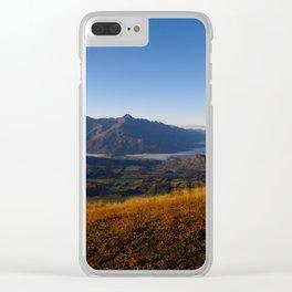Coronet Peak Clear iPhone Case