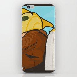 Go get 'em, kid iPhone Skin