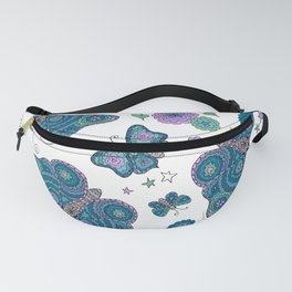 Butterfly Daydream - by Kara Peters Fanny Pack