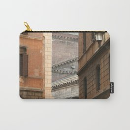 Street View of the Pantheon of Rome Carry-All Pouch