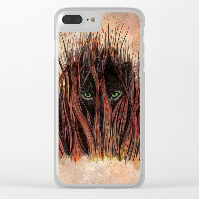 In the Grass Clear iPhone Case
