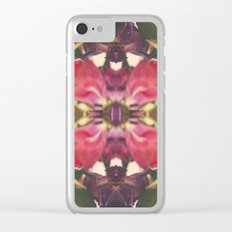 Sunset of Roses Clear iPhone Case