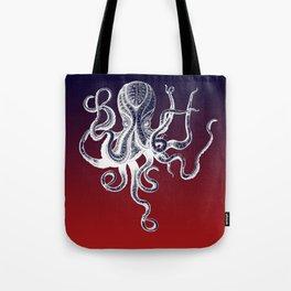 Vintage Octopus Colors Tote Bag