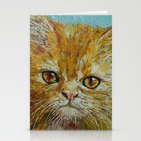 van gogh Stationery Cards featuring Van Gogh by Michael Creese